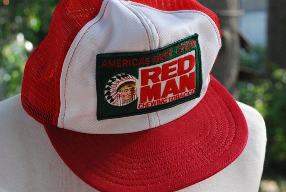 Red Man Chewing Tobacco Trucker Hat