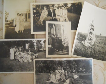 Young 20th Century Antique Photo Lot