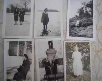 1920s-40s Lovely Ladies Antique Photo Lot No.9