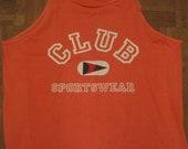 1991 Hot Pink Muscle Shirt tank top USA sleeveless XL