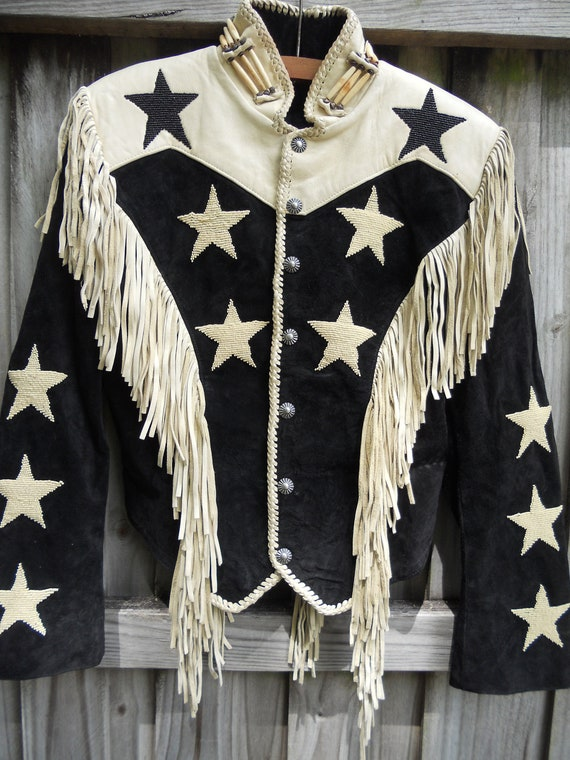 Vintage RENEGADE by REN ELLIS Leather Jacket Size 8