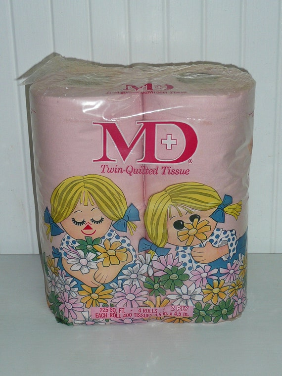 Reserved Vintage Pink Toilet Paper Md Brand By