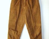 Vintage 80s Pasta Corduroy Ankle Pants