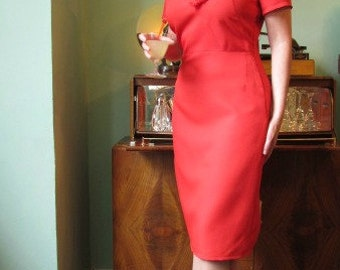 Dress 'Gisella', vintage inspired, made to measure.