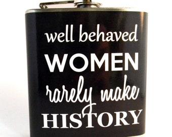 Flask : Well Behaved Women
