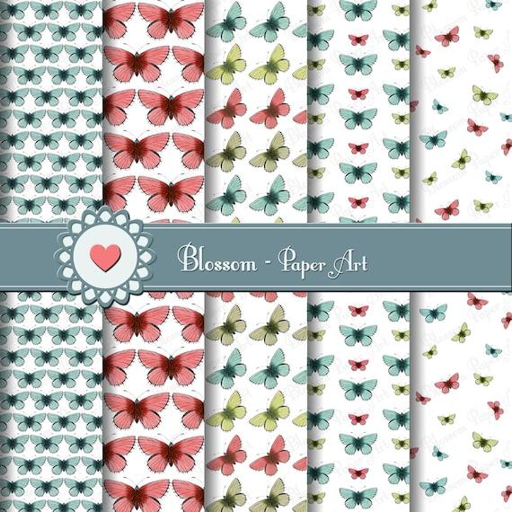 Mariposas papeles decorativos para imprimir mariposas para - Papeles decorativos de pared ...