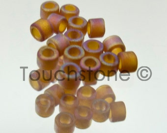 11/0 Delica Seed Beads Light Brown AB Matte 7.2 Gram Tube DB853 #45-113853