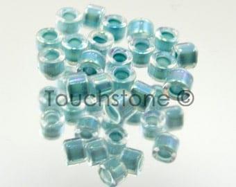 11/0 Delica Seed Beads Dark Aqua AB Lined 7.2 Gram Tube DB79 #45-113079