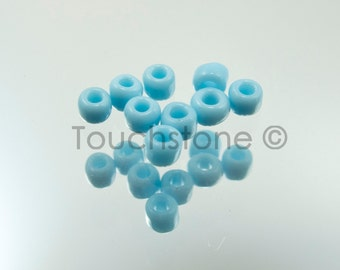 10/0 Czech Seed Beads Sky Blue 20 Grams #222-144025