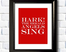 Popular items for hark the herald on Etsy