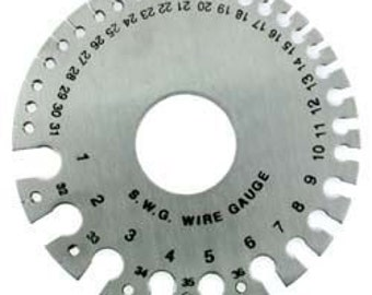 Metal Wire and Sheet Gauge