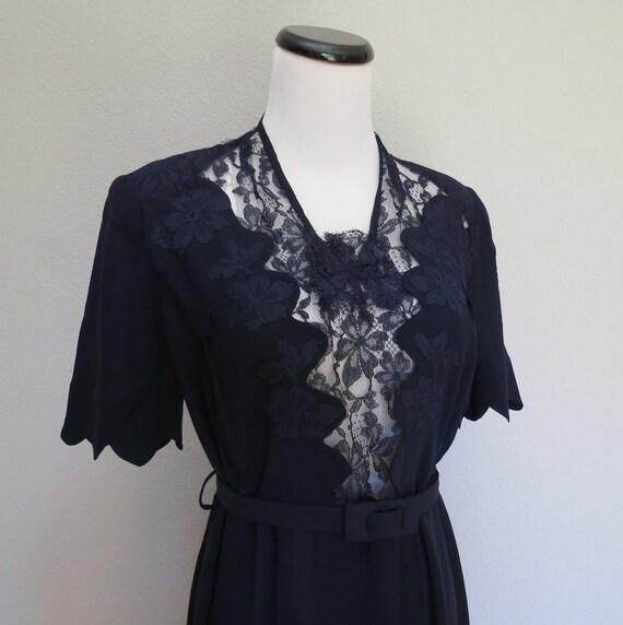 40s dress size med-large / Moon River Dress
