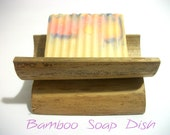 Natural Bamboo Soap Dish - Artisan