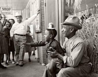 Vintage Photo African American Black Man  - Black Negro Man - Old Photo Reprint