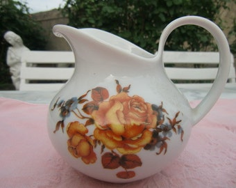 """Vintage Germany """"milk jug ornate porcelain"""""""