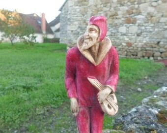 1920 figurine lute player