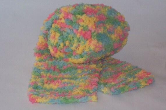 Knit Scarf, Multi Color, Adult, Children, OOAK
