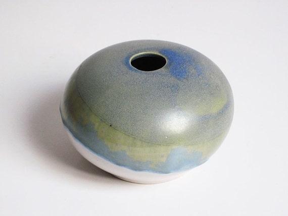 Mid-century studio ceramic vase by Koge Denmark (Asbo Stentøj)
