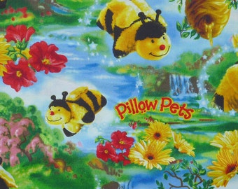 Pillow Pets Bee by Print Concepts 8600--111 Cotton Print Fabric