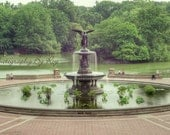 NYC Central Park Bethesda Fountain Photograph, Manhattan New York City Original photograph / print.