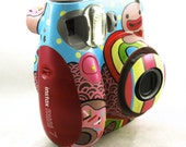 Items Similar To Custom Painted Fujifilm Instax Mini 7s On