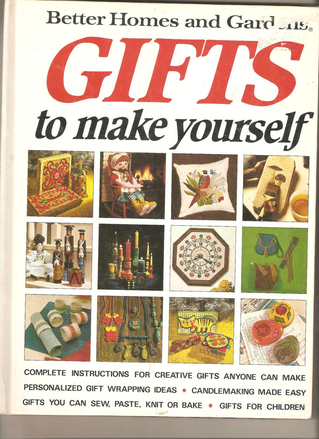Better Homes And Gardens Book Gifts To Make Yourself