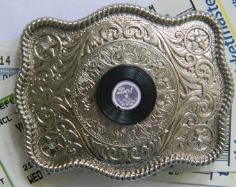 Items Similar To Stray Cats Record Buckle Accessory On Etsy