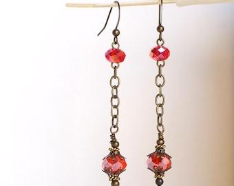 Antique Lantern Dangling Earrings