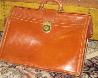 Leather Brief Case Engineering Dept Utah Power and Light :) S
