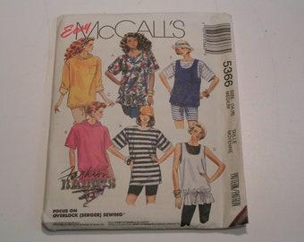 McCalls Pattern 5366 Tunic