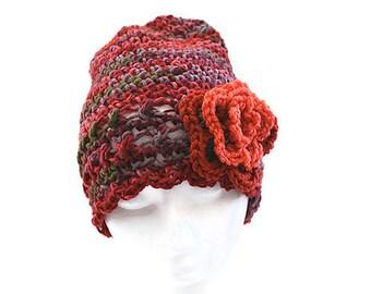 Fall Fashion, Knit Slouch Hat, Womens Fashion Hats, Knit Hat Woman, Crochet Hat, Ladies Winter Hat, Slouchy Crochet Hat, Slouch Hat,