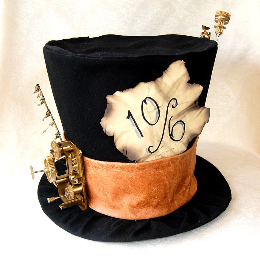 Full Sized Top Hat Steam Punk Mad Hatter Cosplay Costume
