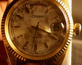 Reserved For Nathan -- Men's Cyrano Rolex Style Sport Watch