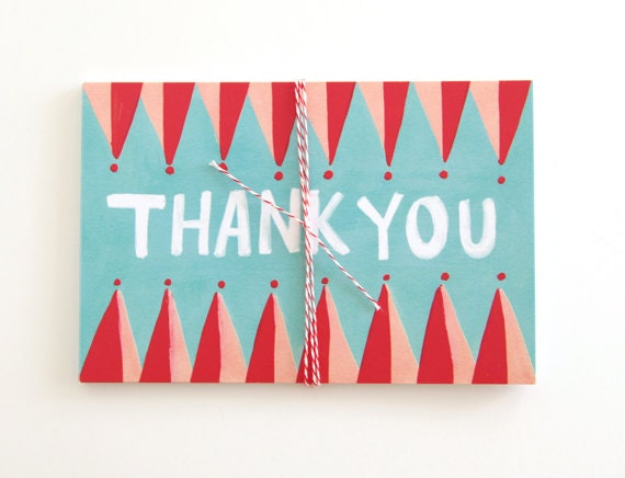 Thank You Postcards - Set of 10