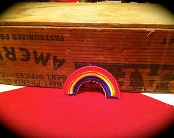 Vintage Rainbow Patch