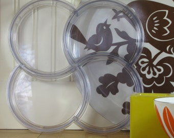Dansk Gunnar Cyran Clear Tray, Dansk, Danish Modern, Modern, Tray, Holiday Tray