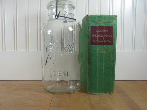 Extra Large Ball Canning Jar, Large Canning Jar, Ball Ideal Jar, Ball Jar, Extra Large Jar