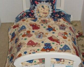 Angel Themed Doll Bedding
