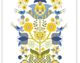 Christine Stalder Original Illustration  -  Tree of Life  -   Limited Edition Print
