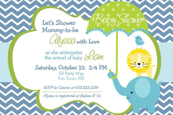 E-Invites Baby Shower as good invitation layout