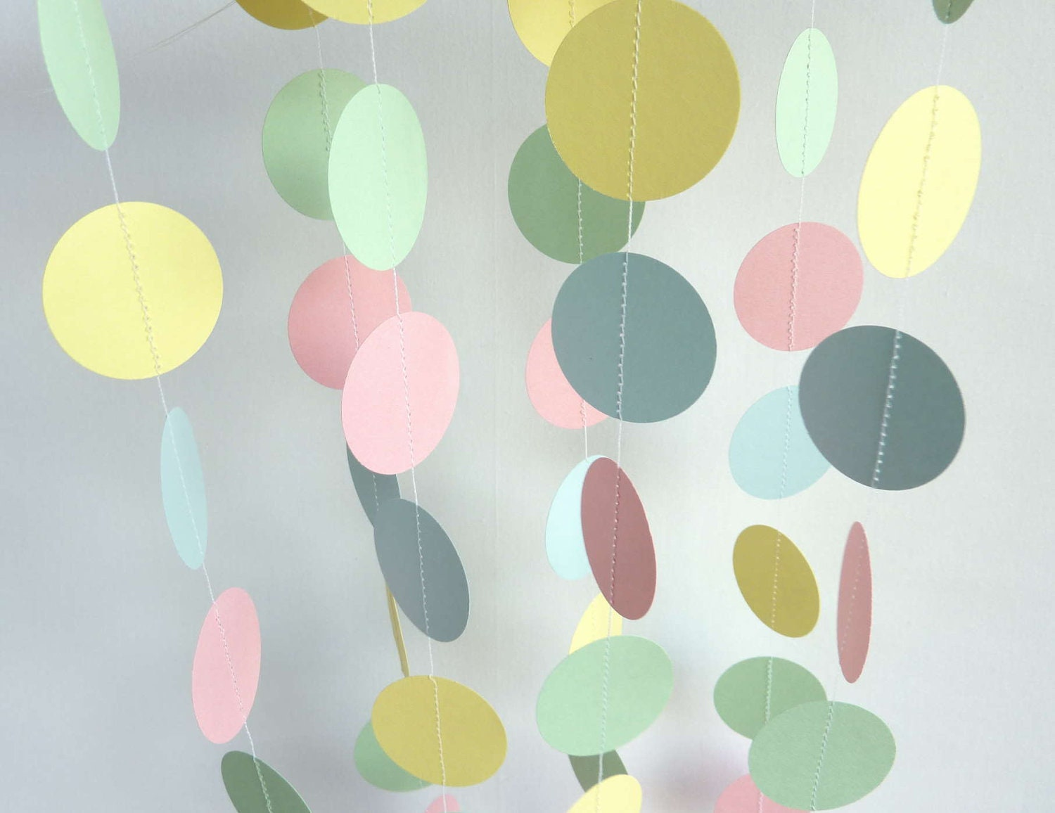 Pastel Garland Easter Baby Garland New Baby By