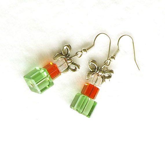Items similar to christmas sale christmas gift earrings for Christmas sale items