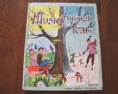 Vintage Music Through the Year teachers book from 1956