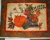 Fall Memories Raw Edge Applique Quilt Kit READY TO SHIP