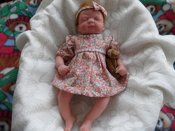 Little Reborn Baby Girl with two Outfits