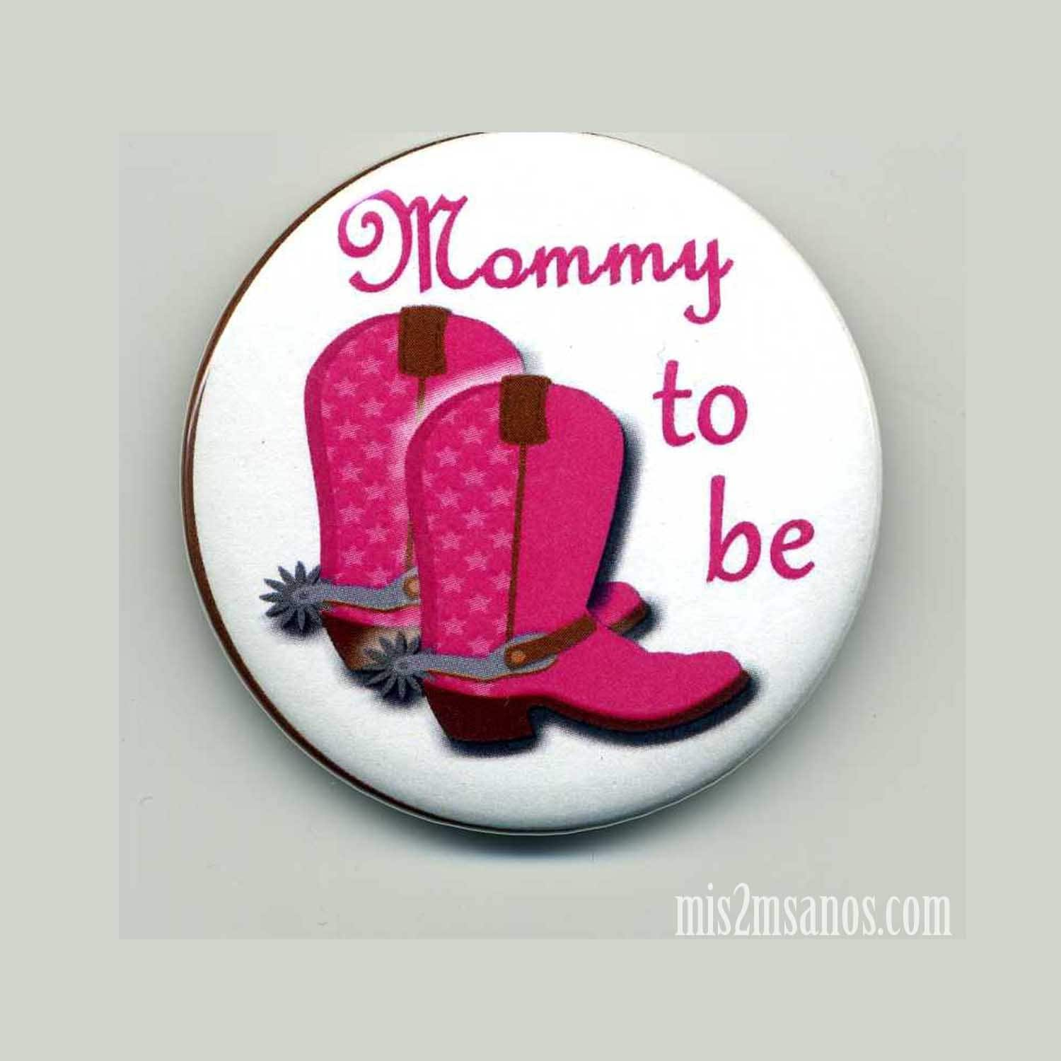 cowgirl baby shower buttons personalized buttons mommy to be