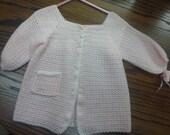 sz 12 to  18 mo soft sweater coat