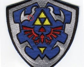 SALE Zelda Hyrule Iron On Patch