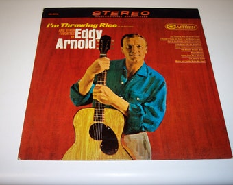 Vintage Eddy Arnold I'm throwing rice LP vinyl record