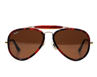 Vintage Ray Ban Bausch and Lomb Traditionals Style G Sunglasses 62mm